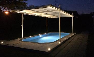 bildergalerie poold cher pooldach 24. Black Bedroom Furniture Sets. Home Design Ideas
